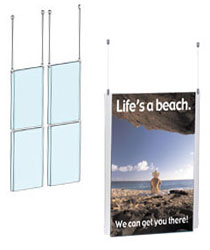 11x17 hanging sign systems