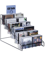 Countertop DVD Display for Increased Impulse Sales