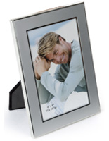 "4"" x 6"" Silver Plated Picture Frames"