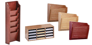 Wall Magazine Racks Wood Metal and Plastic Organizers