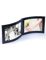 5x7 Black Double Photo Frame
