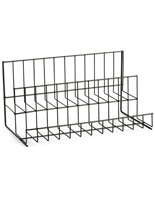 2 Tier Wire Countertop Rack for Impulse Sales
