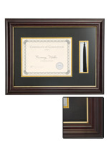 "11"" x 8.5"" Tassel and Diploma Frame"