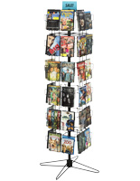 Freestanding Spinner Display Rack