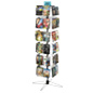 Spinner Display Rack, 8 Pockets per Tier