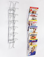 flyer rack for a photo studio