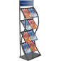 Black Pop Up Magazine Rack