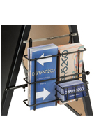 Black Wire Literature Pocket for A-Frame Sign and Sandwich Boards