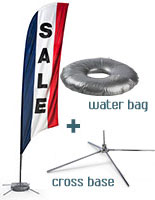 Swooper Sale Flags with Sale Message