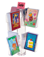 Countertop Greeting Card Display