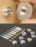 decorative screw heads