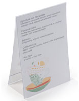 "4"" x 6"" Menu Card Holders"