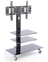 Durable TV Stand with Mount for 65 Inch TVs