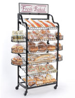 Bakery Display Shelves