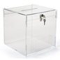 Plexiglass Donation Box Countertop