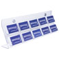 Easy to Mount Acrylic Business Card Wall Rack