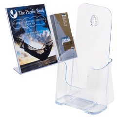 popular acrylic brochure holders