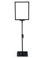 "8.5"" x 11"" Steel Graphic Stand Great for Businesses"