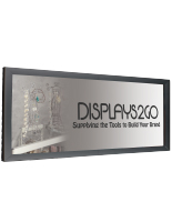 4' x 7' Black Banner Stretching Frame for Large Format Prints