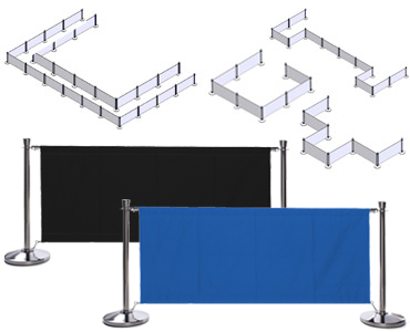 Blank Cafe Barrier Configurations