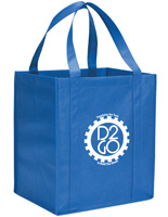 Blue Custom Tote Bags for Confrences