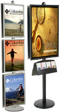 Poster Display Stands: FORTE Series