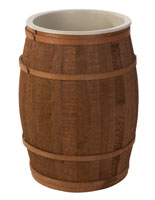 Wooden Food Grade Barrel with Acrylic Liner