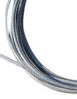 detail image of coiled cable