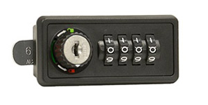 Combination lock for cell phone locker