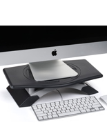 Monitor Stand Riser with Swivel Tray