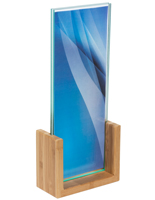 Bamboo Menu Stand for Promotions