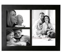 collage picture frames for gallery style presentations