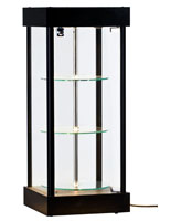 Lighted Revolving Display Cabinet