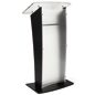 Front Frosted Acrylic Public Speaking Stand