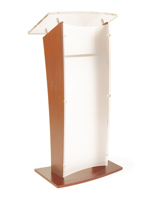 Maple Wood Rostrum Podium