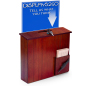 Comment Box with Sign Holder for Advertising Causes and Raffles