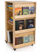 Rolling Children's Book Stand