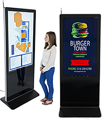 Digital Signage Floor Stand Displays