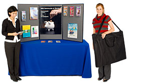 tabletop brochure displays for events and trade shows