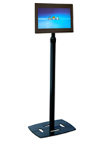 Digital Picture Frame Kiosk w/ Black Base