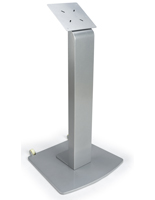 Touch Screen Stand with Wheels for High Traffic Areas