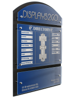 Systematic 3-Panel Custom Directory Sign