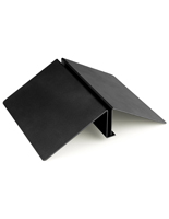 Floor Standing Black Sign Wedge