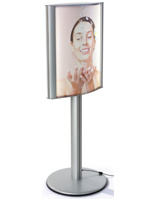18 x 24 Illuminated Light Box Stand with PVC Lenses