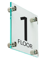 "Level 1 Sign, 6"" Overall Width"