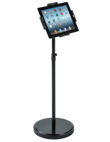 Black Secure Tablet Floor Stand