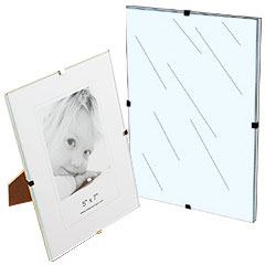 glass clip picture and poster holders