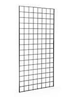 Grid Panel: 2' x 4' Black Single