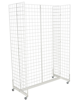 "White Gridwall ""H"" Stand for Panel Accessories"
