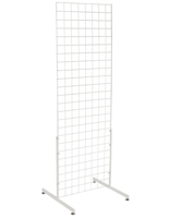 "White Gridwall ""T"" Stand, 24"" Wide Panels"